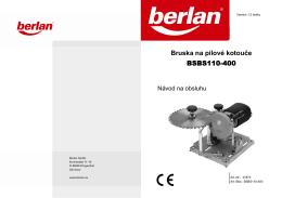 27873 Bedienungsanleitung BSBS110-400 - Svářečky