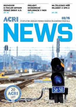 Na železNici míří miliardy z OPd 2 PrOjekt ekONOmické