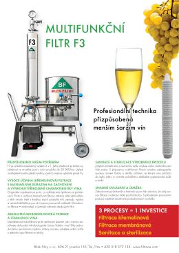 F3 - Multi-funkční filtr