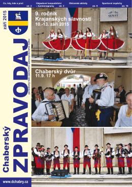 září 2015 - Dolní Chabry