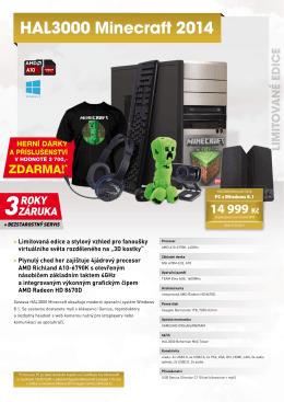 HAL3000 Minecraft 2014