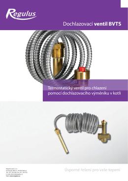 Dochlazovací ventil BVTS