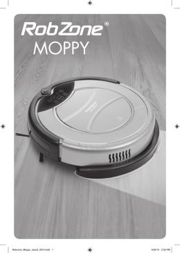 Návod Robzone Moppy 2015