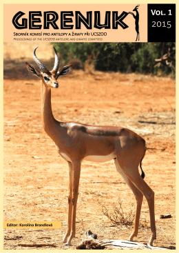 434_GERENUK VOL 1 2015 30 06 S - Žirafy