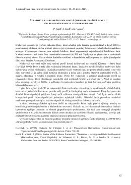 Stratotyp klabavského souvrství (ordovik pražské pánve)