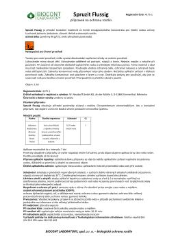 Spruzit Flussig - Biocont Laboratory