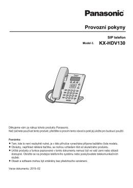 KX-HDV130 - psn