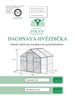 DACHNAYA-HVĚZDIČKA - Domacitechnika.cz