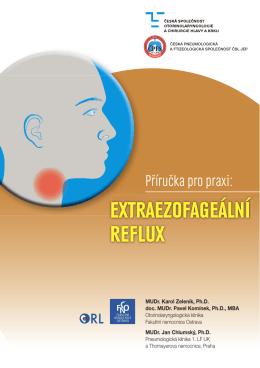 extraezofageální reflux - Česká společnost otorinolaryngologie a
