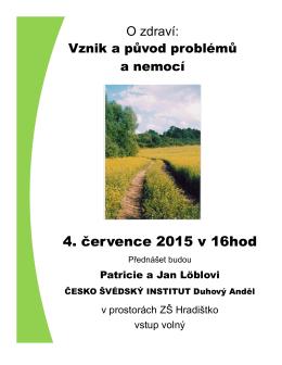 Plakát Vznik a duvod problému a nemocí