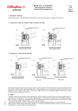 1,56 MBEl.jednokotoučové spojky a brzdy Typ - TROMA