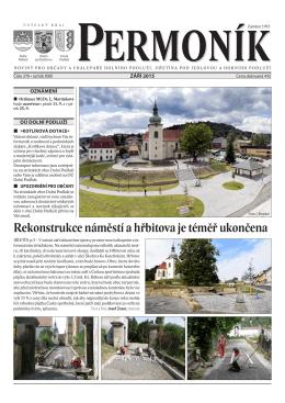 áří 2015 - Jiřetín pod Jedlovou