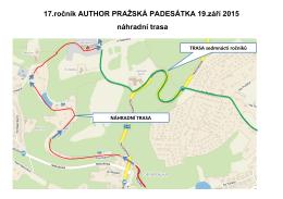 17.ročník AUTHOR PRAŽSKÁ PADESÁTKA 19.září