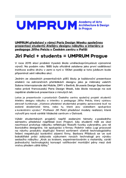 JIRI PELCL plus STUDENTI UMPRUM PRAGUE