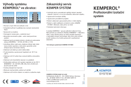 KEMPEROL® - Kemper System