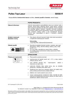 Pullex Top-Lasur 50550 ff