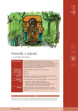 Materiály a odpady - Green Pack Online