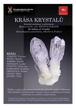 Krása krystalů
