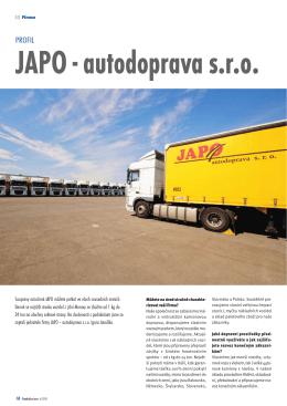 JAPO - autodoprava