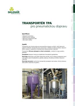 Transportéry TPA
