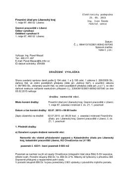 Finanční úřad pro Liberecký kraj