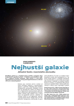 Nejhustší galaxie