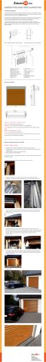 Fotonávod pro montáž garážových vrat