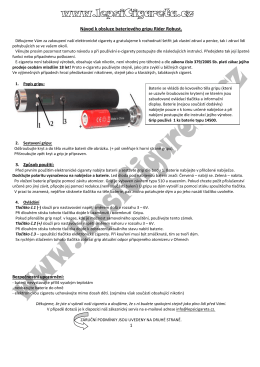 Grip Rider Robust - Elektronické cigarety