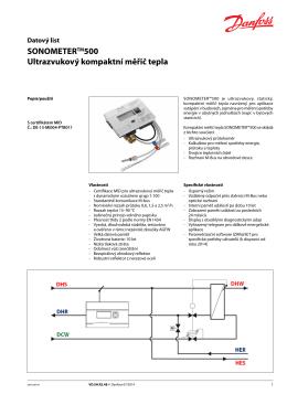 Více informací o Sonometru™500 zde