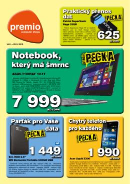Leták PREMIO Únor – Březen 2015