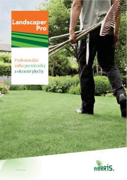 Profesionální volba pro trávníky a okrasné plochy
