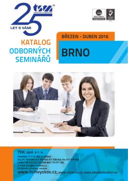 katalog odborných seminářů březen - duben 2016