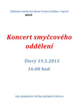 program - ZUŠ Václava Kálika v Opavě