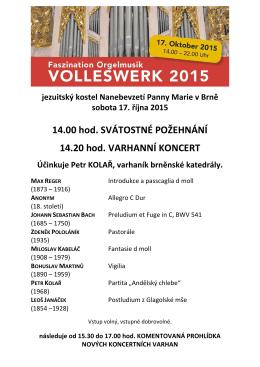 pozvánka + program koncertu 17.10.2015