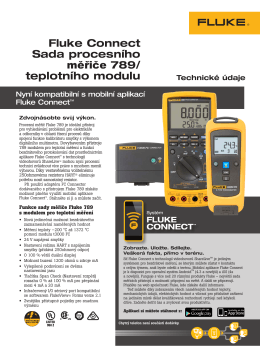 Fluke Connect ProcessMeter/Temp Kit
