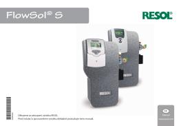 Čerpadlová jednotka Resol FlowSol S