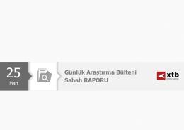 Sabah Analizi - 25 Mart 2016