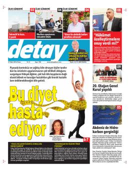 Mizanpaj 1 - Detay Gazetesi