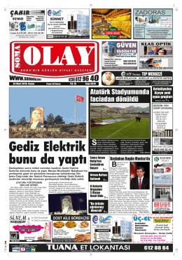 Manisa - Soma Olay Gazetesi