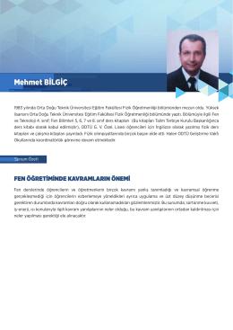 Mehmet BİLGİÇ