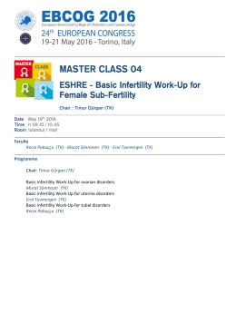 master class 04