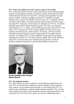 PVC - Prof. Dr. Ural Akbulut