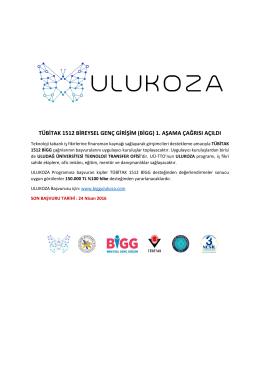 Detaylı Bilgi için tıklayınız… - Uludağ Üniversitesi | Teknoloji