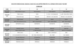 2. Dönem Ortak Sınav Takvimi Yayınlandı