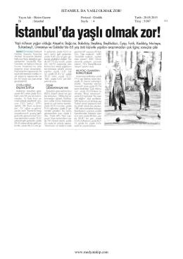 28 Mayıs 2015 tarihli Bizim Gazetesi Haberi