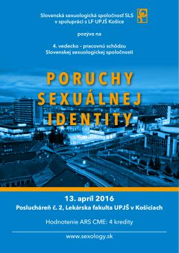 PORUCHY SEXUÁLNEJ IDENTITY