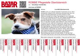 ROBBIE Pflegestelle Oberösterreich