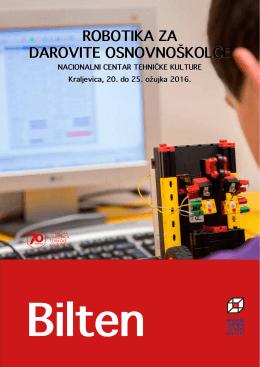 robotika za darovite osnovnoškolce