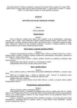Statut HSLS-a