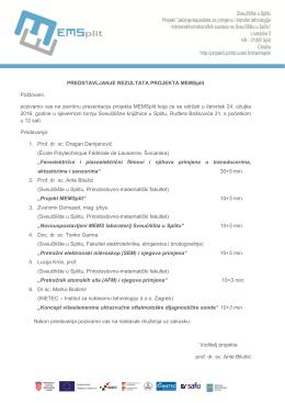 MEMSplit - Prirodoslovno matematički fakultet, Split